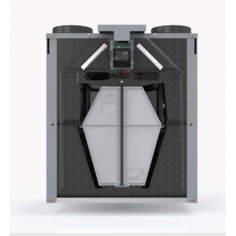 Vmc double flux zehnder comfoair q 450 - Ventilation double flux zehnder ...