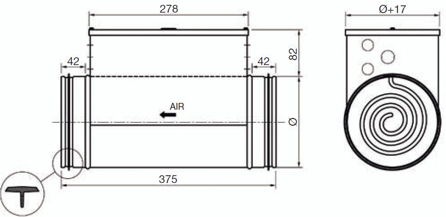 batterie de pr chauffage pour hcc2 fiabishop. Black Bedroom Furniture Sets. Home Design Ideas