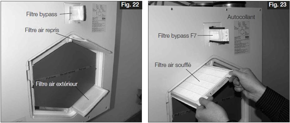 filtre f7 pour vmc double flux helios kwlec 270 370. Black Bedroom Furniture Sets. Home Design Ideas