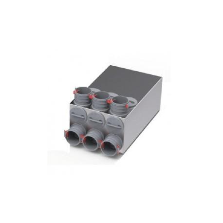 Caisson répartiteur 6 x DN75 - Flexpipe Plus