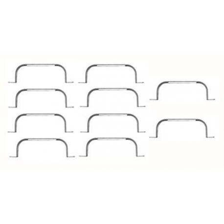 10 colliers de serrage pour ComfoFlat