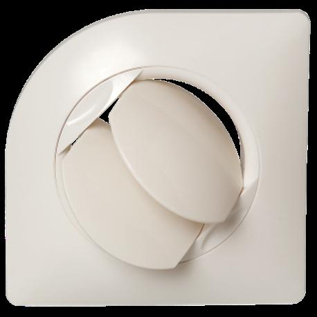 Bouche design à ailettes orientable
