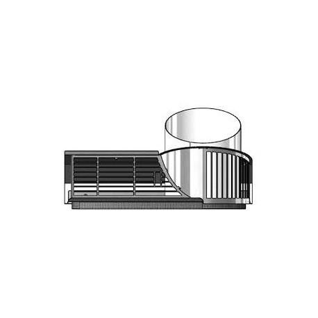 Grille design extérieure - ComfoPipe
