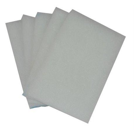 Set de 5 filtres G4 pour caisson filtre Helios
