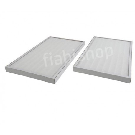 2 Filtres F6pour Renovent HR medium large Bypass