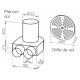 Kit plénum sol DN 160 + grille