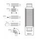 Siphon sec pour VMC double flux