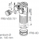 Plénum coudé DN 125 - Flexpipe Plus