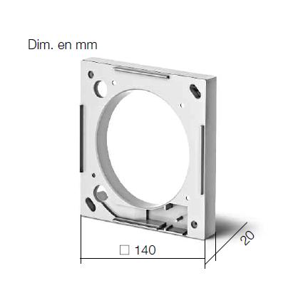 Entretoise pour ventilateurs M1